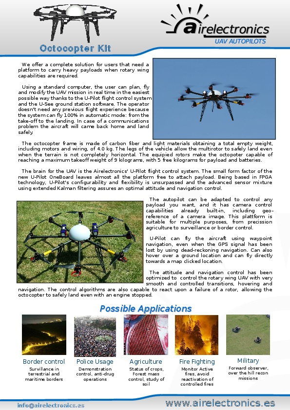 Brochure Octocopter